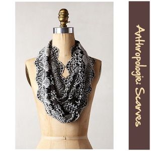 "Anthro ""Eyelet Infinity Scarf"" by Floreat"